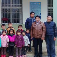 Herr Zhang besucht das Sonnendorf Douchang