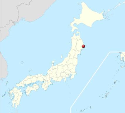 Geographische Lage von Yamada